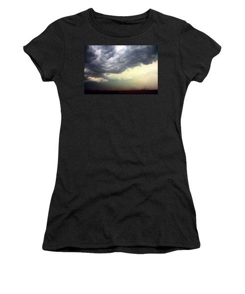 Severe Cells Over South Central Nebraska Women's T-Shirt
