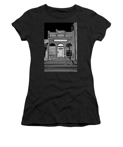 104 South Washington Women's T-Shirt (Junior Cut) by Mark Alder