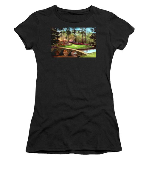 12th Hole At Augusta  Women's T-Shirt (Athletic Fit)