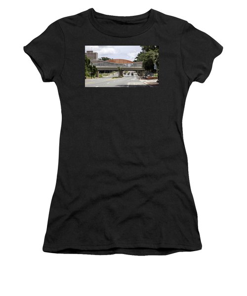 13th Street Rails To Trails Trestle Women's T-Shirt (Athletic Fit)