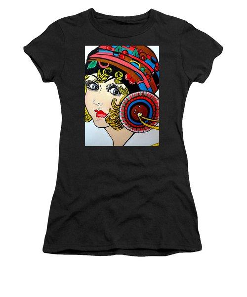 Art Deco  Ann Women's T-Shirt (Junior Cut) by Nora Shepley