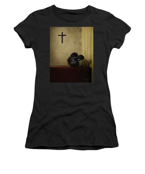 16. Black Silkie Women's T-Shirt