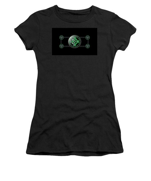 Celtic Cross Women's T-Shirt (Athletic Fit)