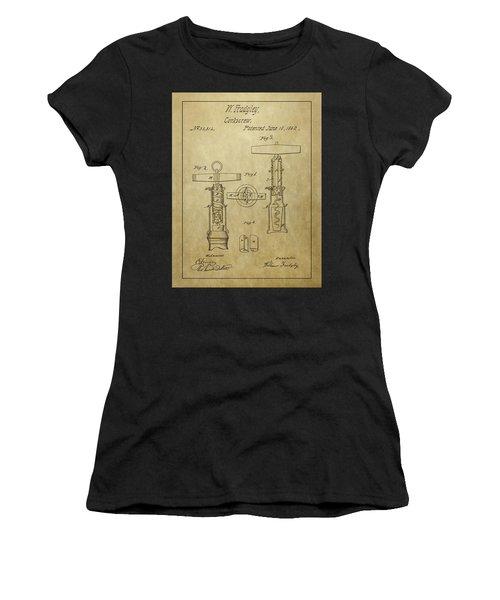 1862 Corkscrew Patent Women's T-Shirt