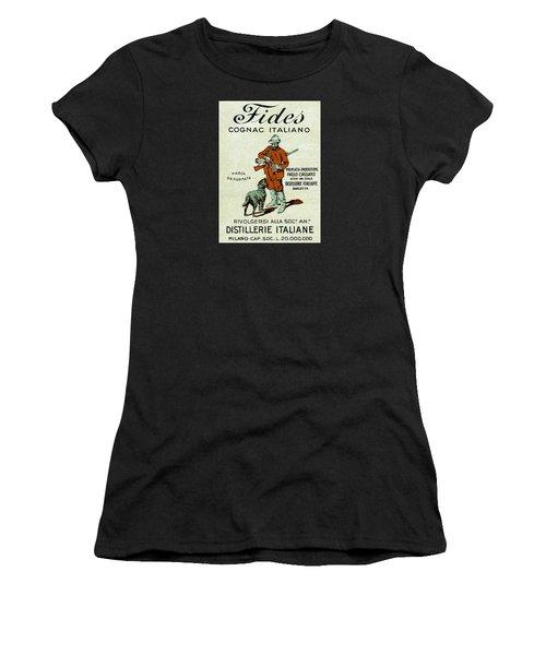 1905 Fides Italian Cognac Women's T-Shirt (Athletic Fit)