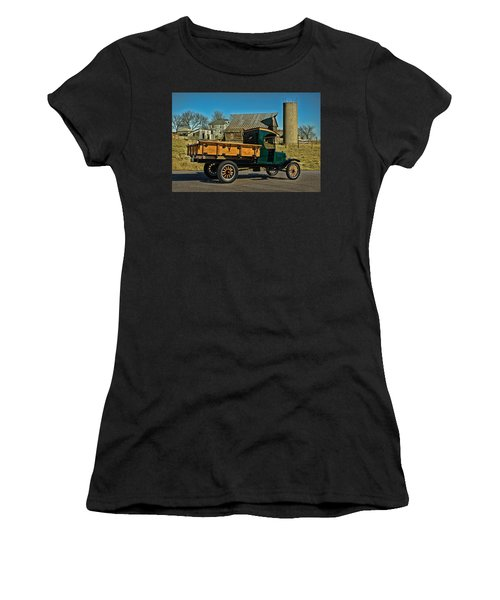 1923 Ford Model Tt One Ton Truck Women's T-Shirt (Athletic Fit)