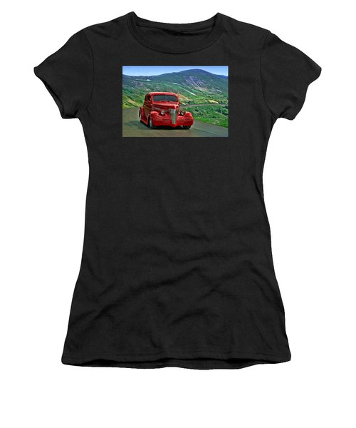 1939 Chevrolet Coupe Women's T-Shirt (Athletic Fit)