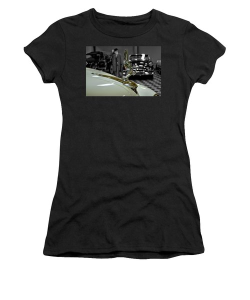 1947 Packard Hood Ornimate Women's T-Shirt (Athletic Fit)