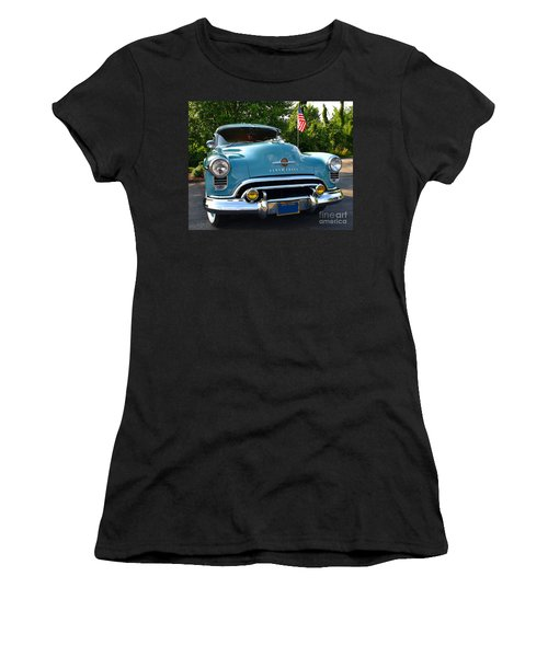1950 Oldsmobile Women's T-Shirt (Athletic Fit)