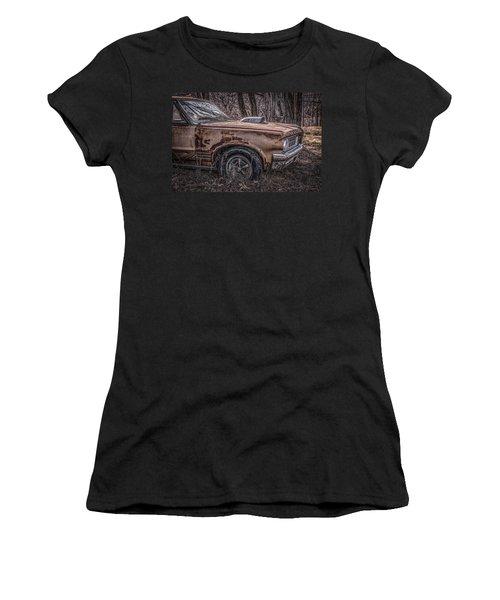 Women's T-Shirt (Junior Cut) featuring the photograph 1964 Pontiac by Ray Congrove