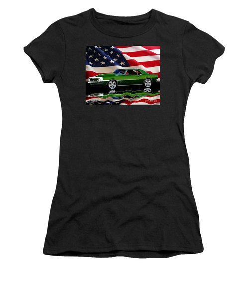 1968 Camaro Tribute Women's T-Shirt (Athletic Fit)
