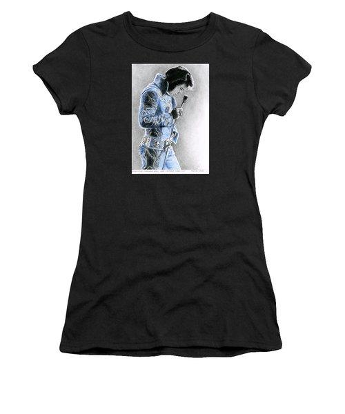 1972 Light Blue Wheat Suit Women's T-Shirt (Athletic Fit)