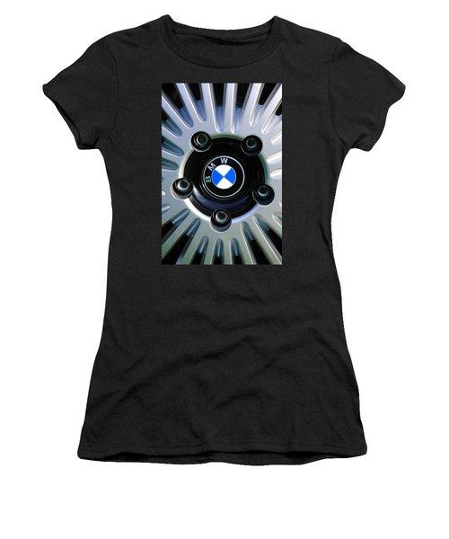 1973 Bwm 3.0 Csl Wheel Emblem Women's T-Shirt