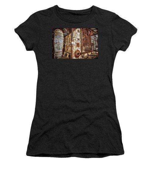Abandoned Steam Plant Women's T-Shirt