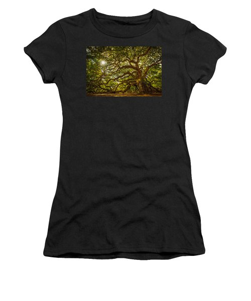 Angel Oak Women's T-Shirt (Athletic Fit)