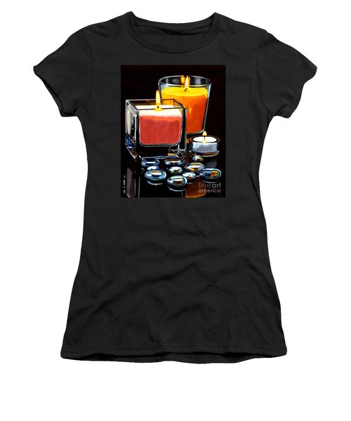 Beautiful Reflection Women's T-Shirt (Athletic Fit)