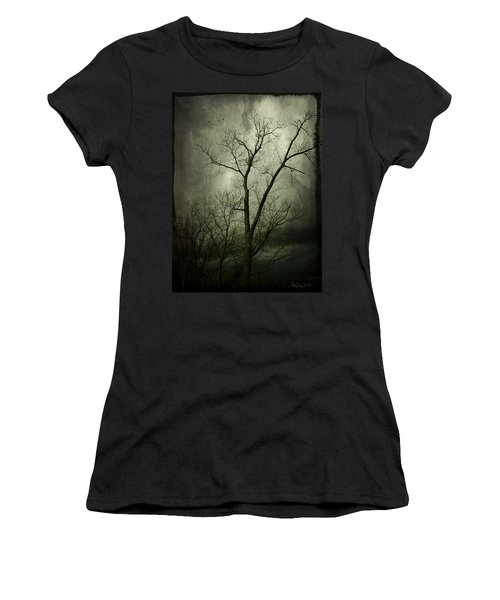 Bleak Women's T-Shirt (Junior Cut) by Cynthia Lassiter