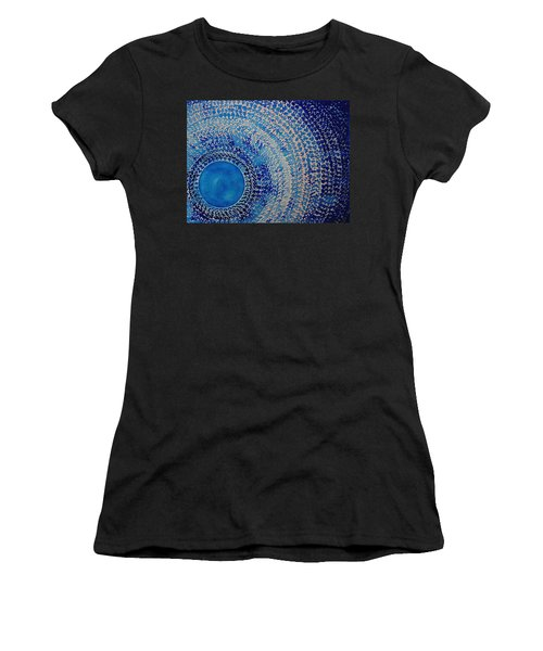 Blue Kachina Original Painting Women's T-Shirt
