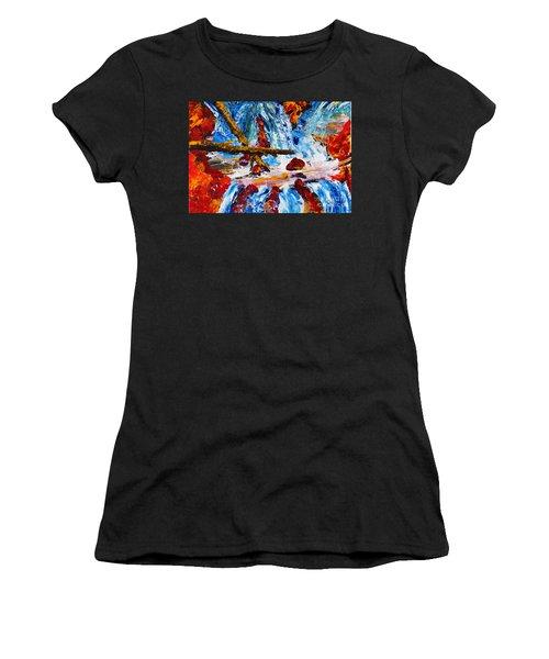 Burch Creek Run-off Women's T-Shirt