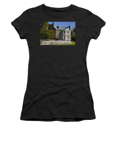 Women's T-Shirt featuring the photograph Carnton Plantation by Brian Jannsen