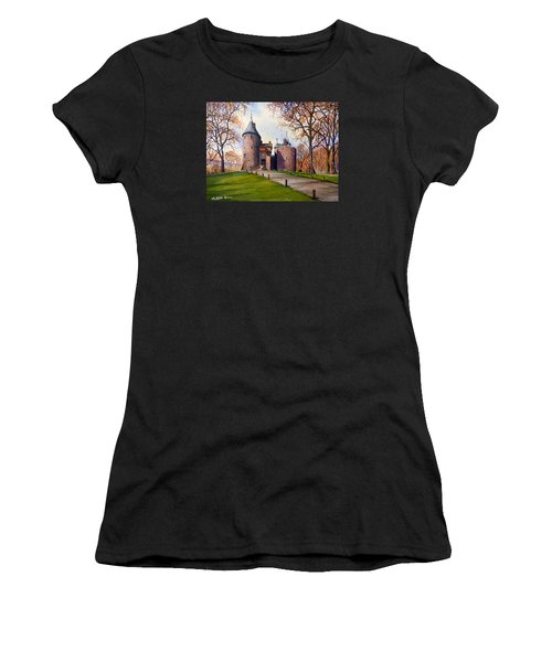 Castell Coch  Women's T-Shirt (Athletic Fit)