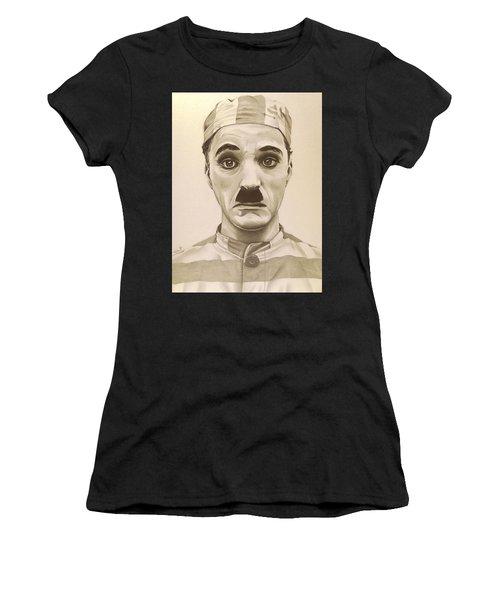 Vintage Charlie Chaplin Women's T-Shirt