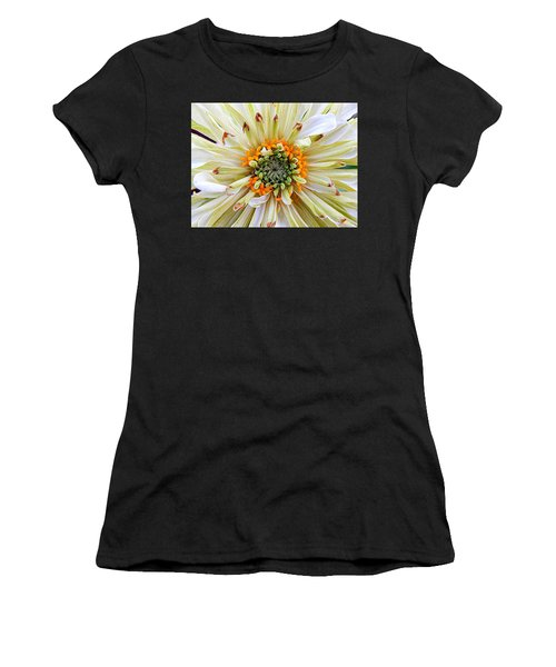 Chrysanthemum Fall In New Orleans Louisiana Women's T-Shirt (Athletic Fit)