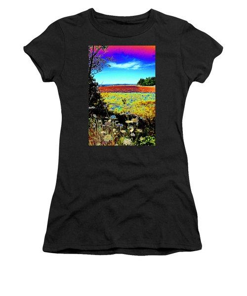 Coos Bay Wild Flowers Women's T-Shirt