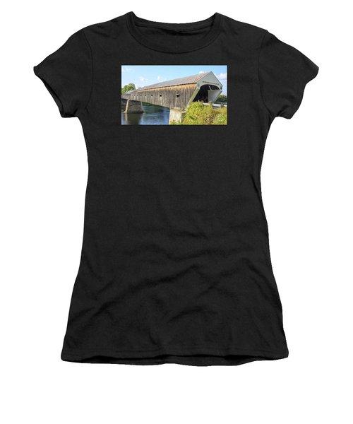 Cornish-windsor Covered Bridge IIi Women's T-Shirt