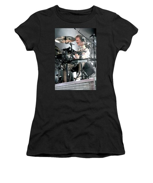 Def Leppard Women's T-Shirt (Junior Cut) by Concert Photos