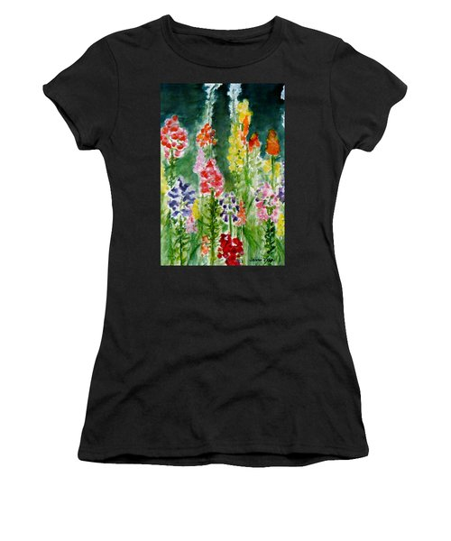 Donna's Snaps Women's T-Shirt (Athletic Fit)