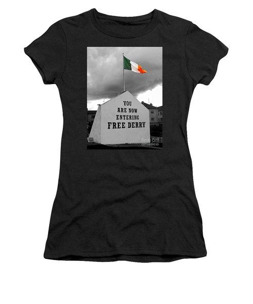 Free Derry Wall 1 Women's T-Shirt