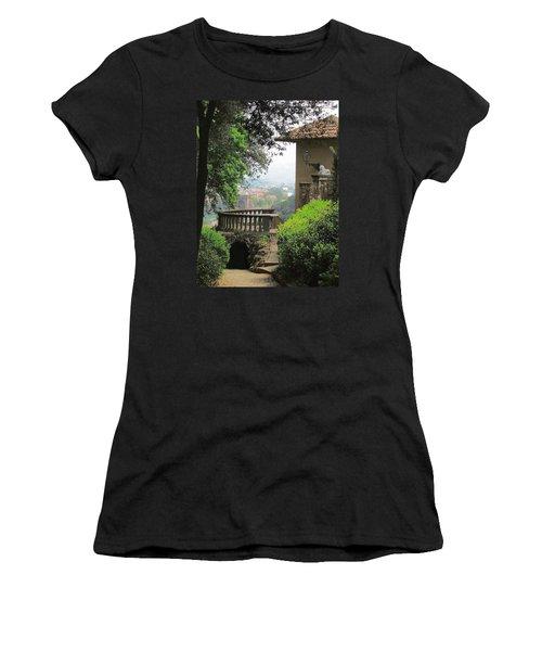 Garden View Women's T-Shirt (Junior Cut) by Ellen Henneke