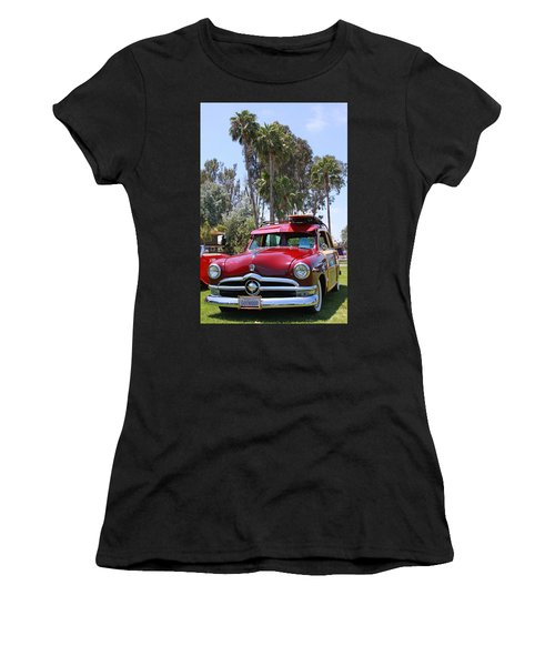 Women's T-Shirt (Junior Cut) featuring the photograph Got Wood? by Shoal Hollingsworth
