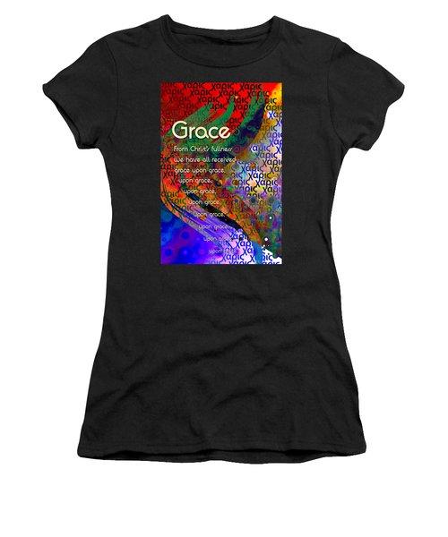 Grace Women's T-Shirt (Junior Cut) by Chuck Mountain