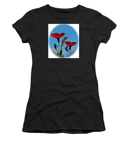 Flower 6 Women's T-Shirt (Athletic Fit)