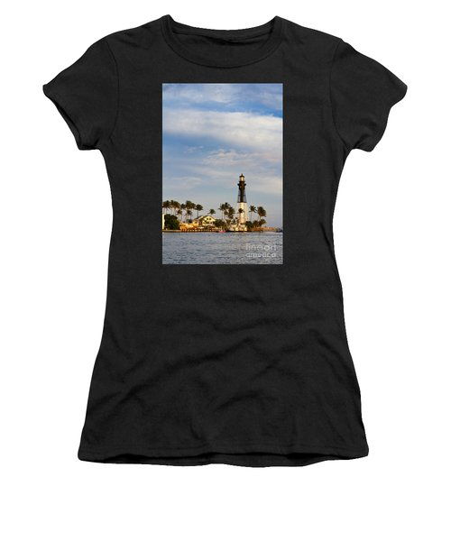 Hillsboro Inlet Lighthouse Women's T-Shirt (Athletic Fit)