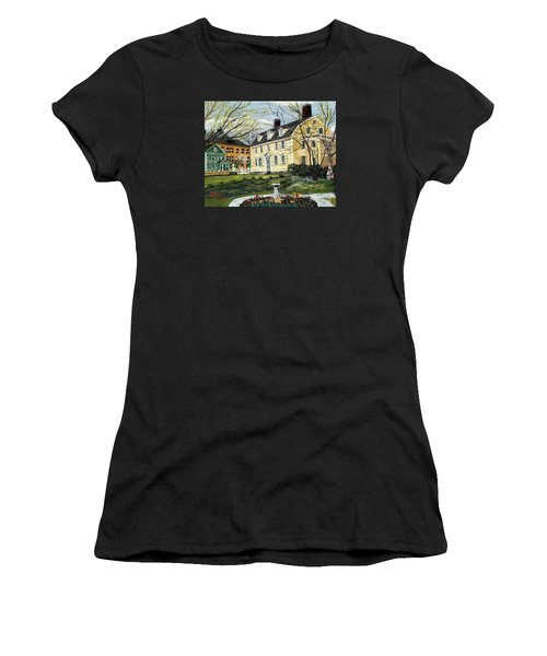 John Paul Jones House Women's T-Shirt (Athletic Fit)