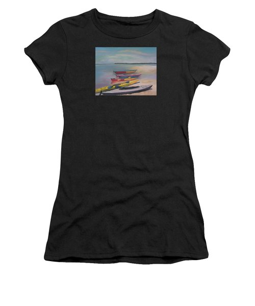 Kayaking Trip Women's T-Shirt (Athletic Fit)