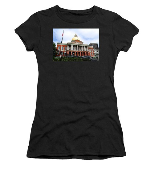 Massachusetts State House Boston Ma Women's T-Shirt