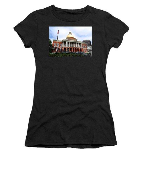 Massachusetts State House Boston Ma Women's T-Shirt