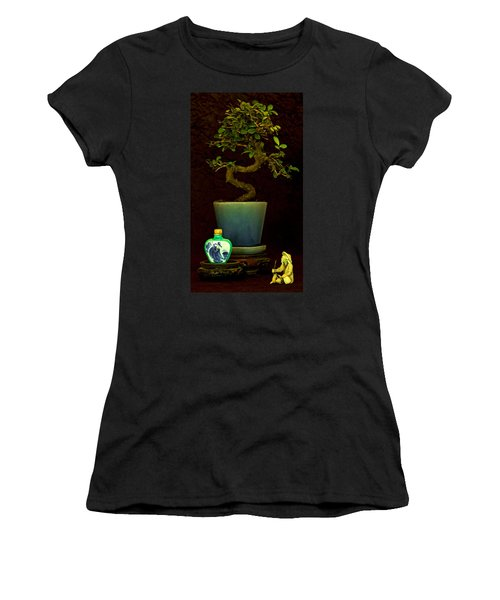 Old Man And The Tree Women's T-Shirt (Athletic Fit)
