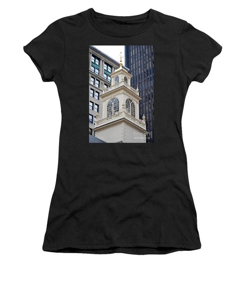 Old State House Boston Ma Women's T-Shirt