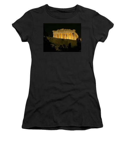 Parthenon Women's T-Shirt (Junior Cut) by Ellen Henneke