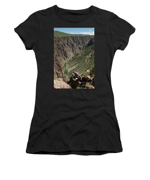 Pulpit Rock Overlook Black Canyon Of The Gunnison Women's T-Shirt