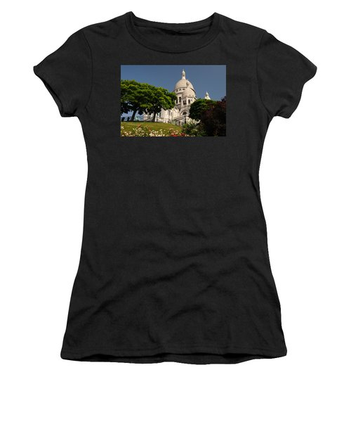 Sacre Coeur Women's T-Shirt (Junior Cut) by Jeremy Voisey