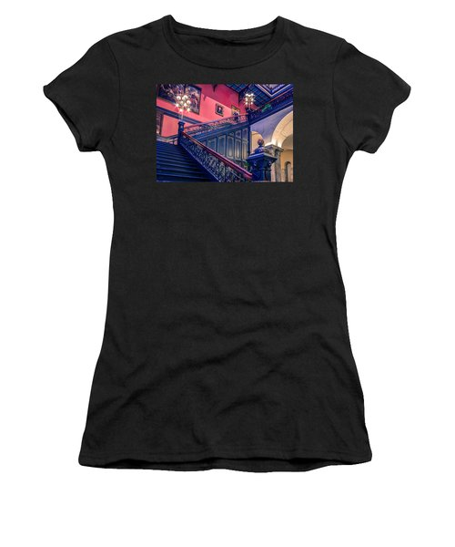 Women's T-Shirt (Junior Cut) featuring the photograph Sc State House by Rob Sellers