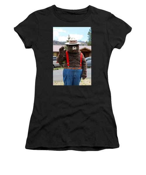 Smokey The Bear Women's T-Shirt (Athletic Fit)