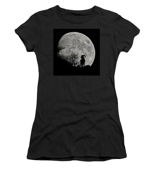 The Big Horn Women's T-Shirt (Athletic Fit)
