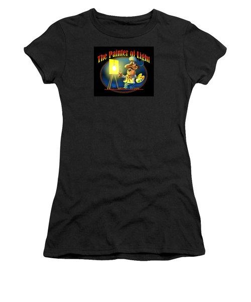 The Painter Of Light Women's T-Shirt (Junior Cut) by Scott Ross